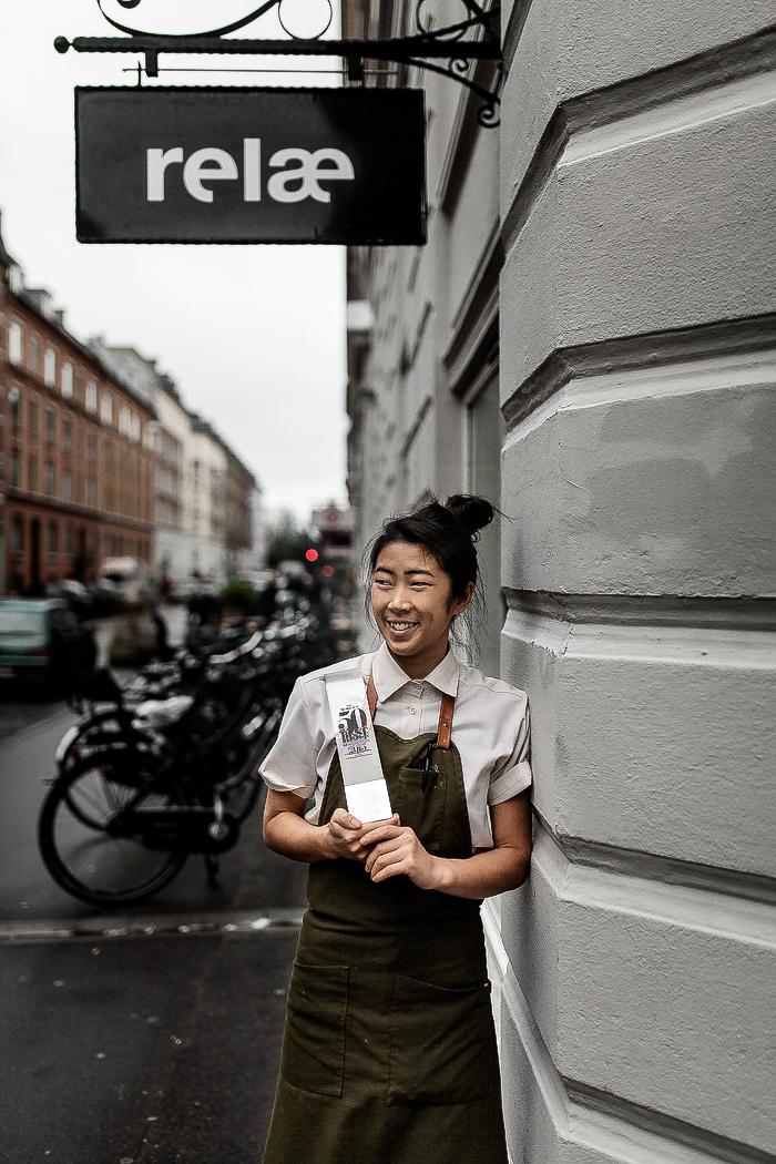 Lisa Lov er souschef på Restaurant Relæ og fik af ejer Christian Puglisi til opgave at gøre alle elementer i restauranten så bæredygtige som overhovedet mulige. Det resulterede i 2015 med prisen som verdens mest bæredygtige restaurant. Foto: Kia Hartelius